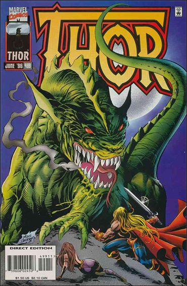 Thor (1966) 499-A by Marvel