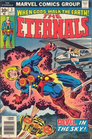 Eternals (1976) 3-A by Marvel