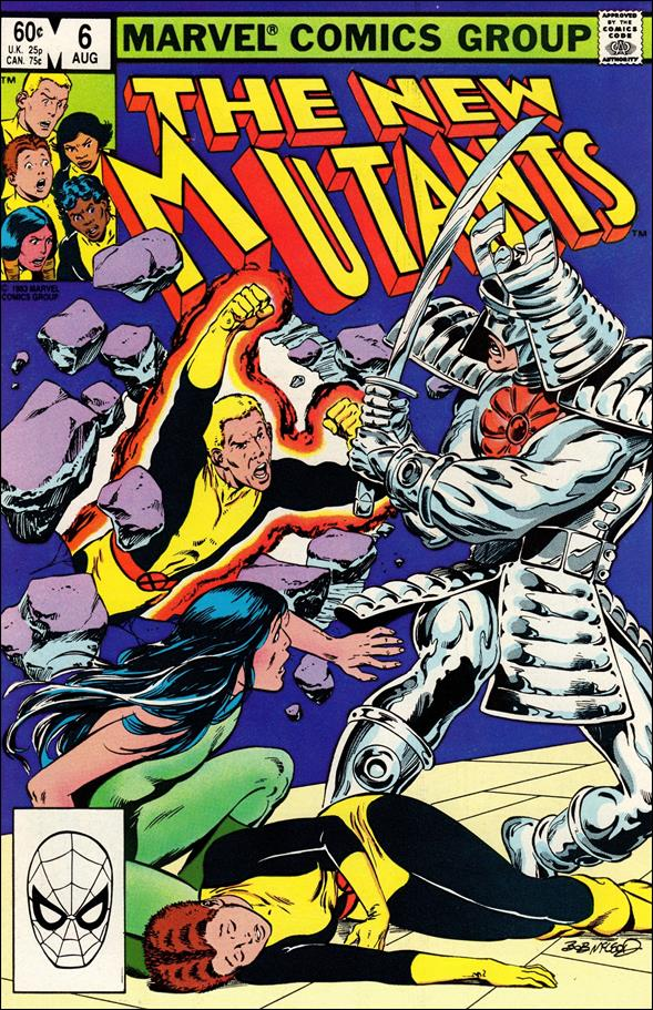 New Mutants (1983) 6-A by Marvel