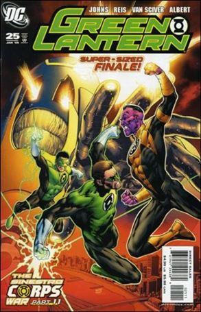 Green Lantern (2005) 25-A
