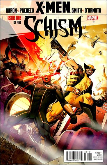 X-Men: Schism 1-A by Marvel