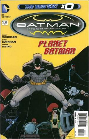 Batman Incorporated 0-D by DC