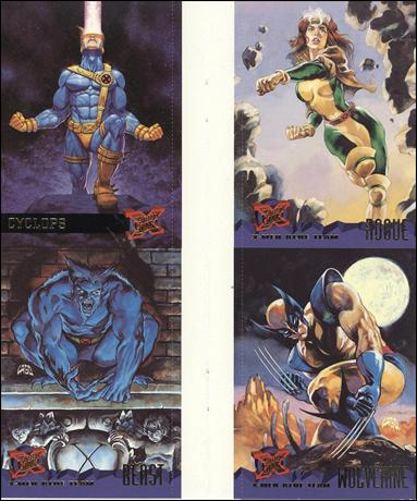 1995 Fleer Ultra X-Men (Promo) NN 6-A by Fleer