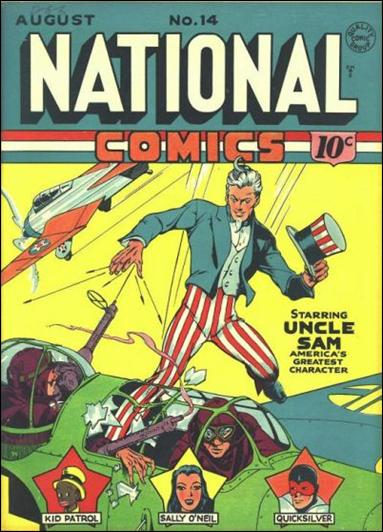 National Comics (1940) 14-A by Quality