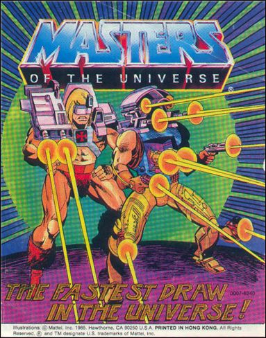Masters of the Universe (1983) 5.9-A by Mattel
