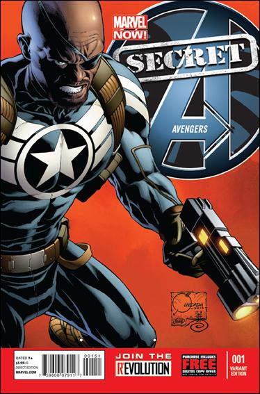 Secret Avengers (2013) 1-C by Marvel