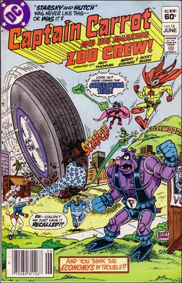 Captain Carrot and His Amazing Zoo Crew 16-A by DC