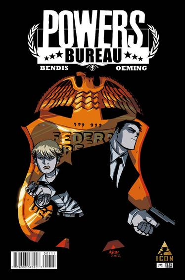 Powers: The Bureau 1-A by Icon