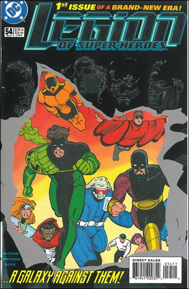 Legion of Super-Heroes (1989) 54-A by DC