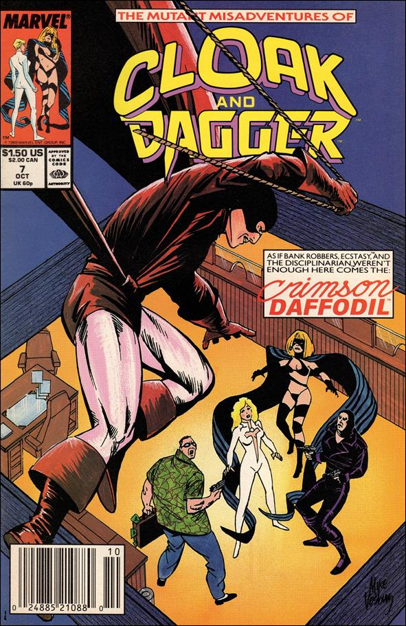 Mutant Misadventures of Cloak and Dagger 7-A by Marvel