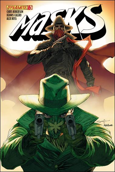 Masks 6-B by Dynamite Entertainment