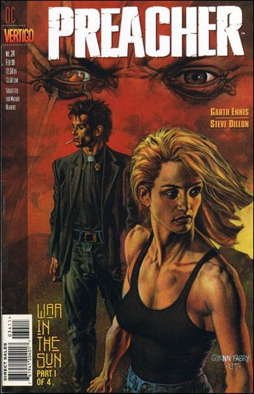 Preacher 34-A by Vertigo