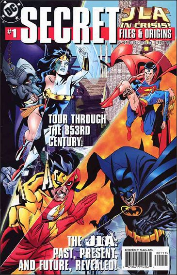 JLA in Crisis Secret Files 1-A by DC