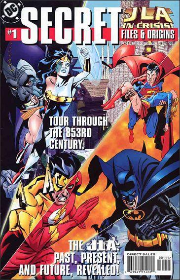 JLA in Crisis Secret Files 1-A by DC