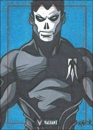 2013 Valiant Comics Preview Trading Card Set (Sketch Card Subset) BT-02-A