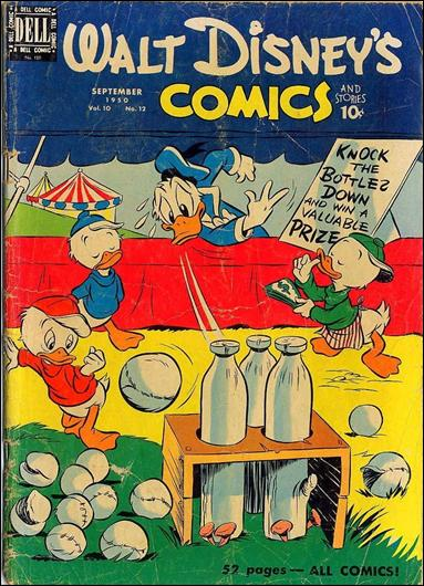 Walt Disney's Comics and Stories (1940) 120-A by Dell