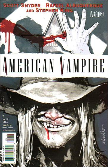 American Vampire 2-A by Vertigo