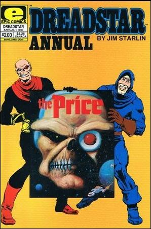 Dreadstar Annual 1-A by Epic