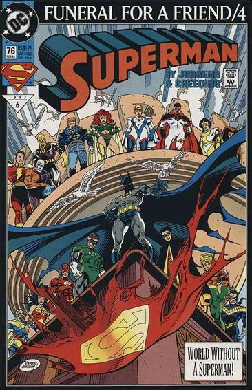 Superman (1987) 76-A by DC
