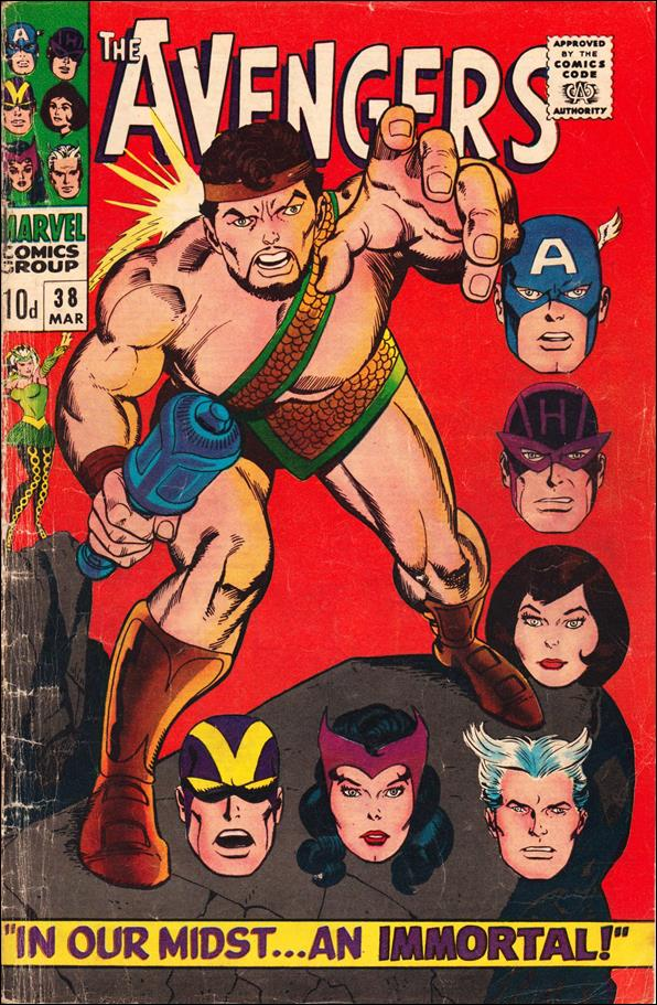Avengers (1963) 38-B by Marvel