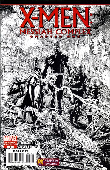 X-Men: Messiah Complex 1-B by Marvel
