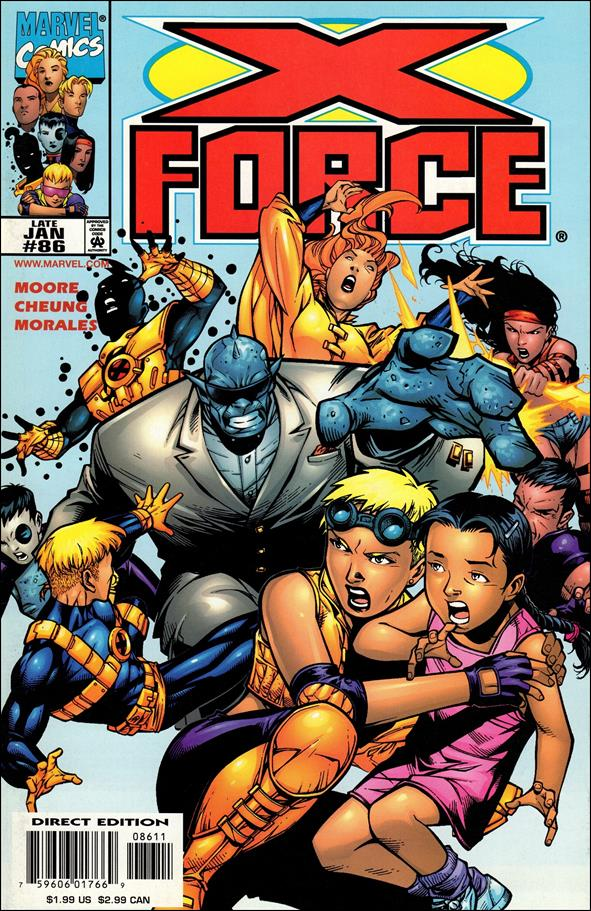 X-Force (1991) 86-A by Marvel