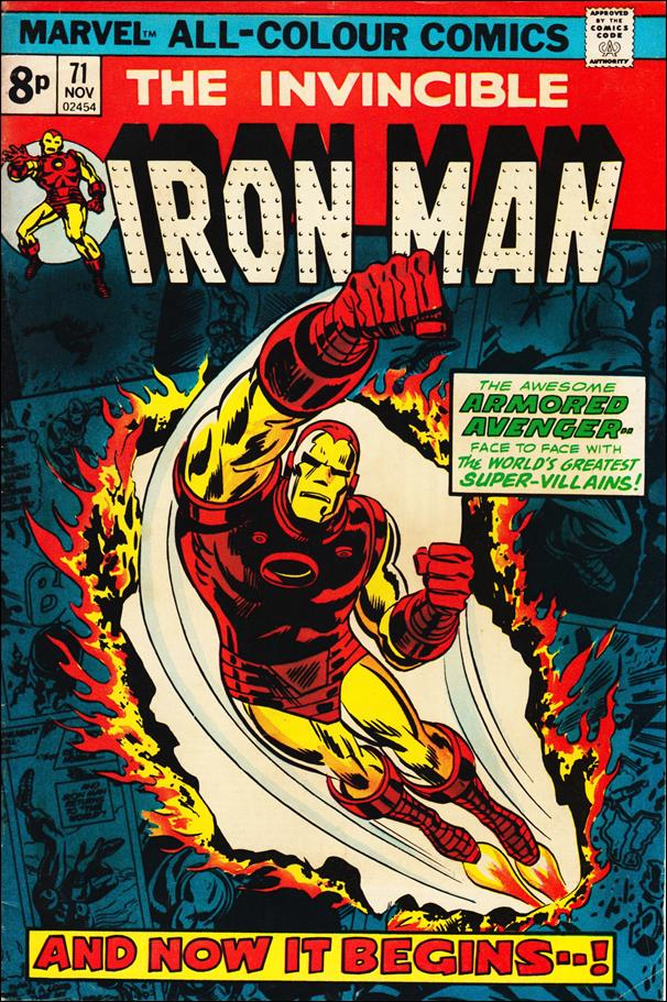 Iron Man (1968) 71-B by Marvel