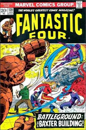 Fantastic Four (1961) 130-A