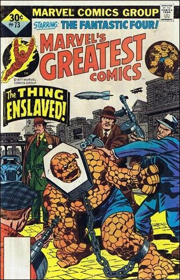 Marvel's Greatest Comics 73-C by Marvel