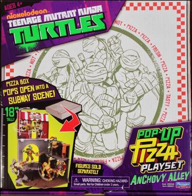 Teenage Mutant Ninja Turtles (2012) Vehicles and Playsets Pop-Up Pizza Playset - Anchovy Alley by Playmates