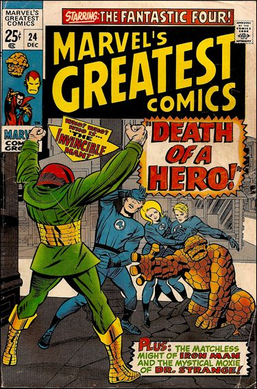 Marvel's Greatest Comics 24-A by Marvel