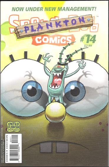 SpongeBob Comics 14-A by United Plankton Pictures