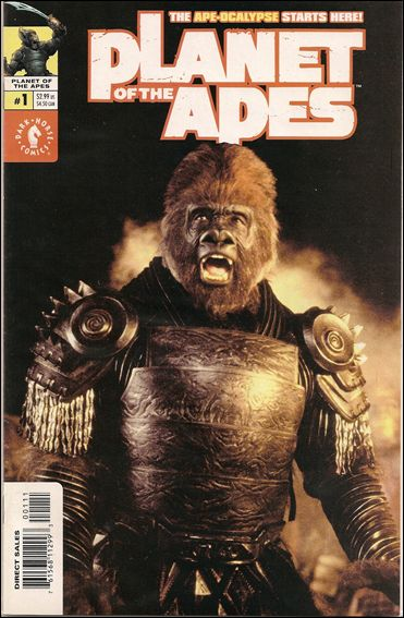 Planet of the Apes (2001/09) 1-B by Dark Horse