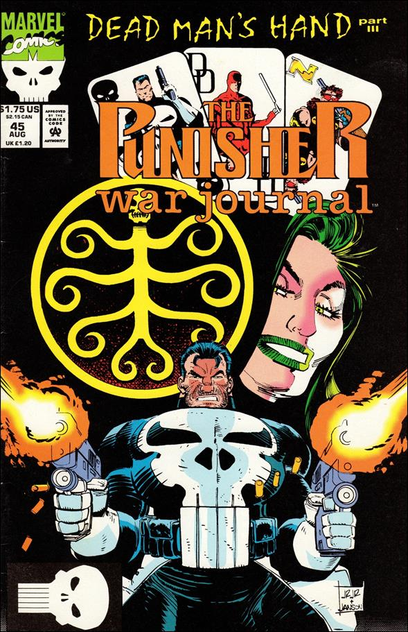 Punisher War Journal (1988) 45-A by Marvel