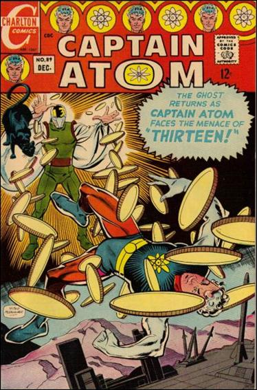 Captain Atom (1965) 89-A by Charlton