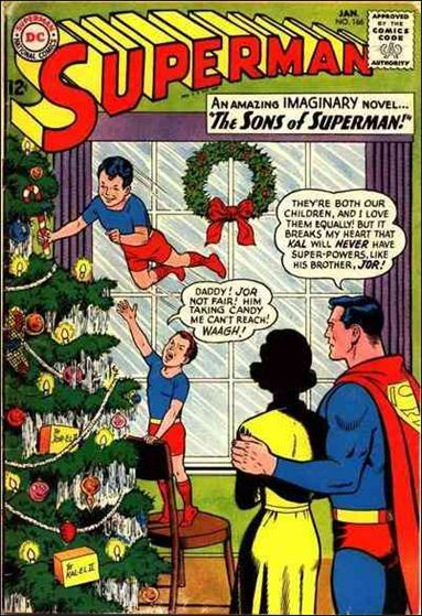 Superman (1939) 166-A by DC