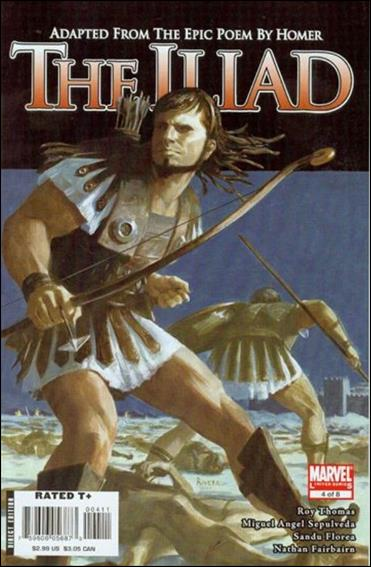 Marvel Illustrated: The Iliad 4-A by Marvel