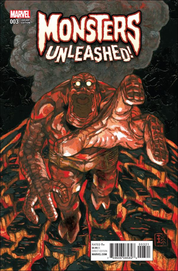 Monsters Unleashed (2017/03) 3-B by Marvel
