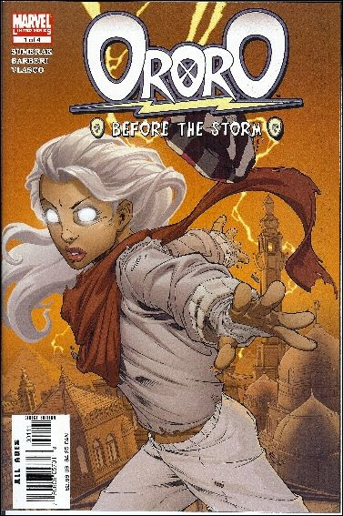 Ororo: Before the Storm 1-A by Marvel