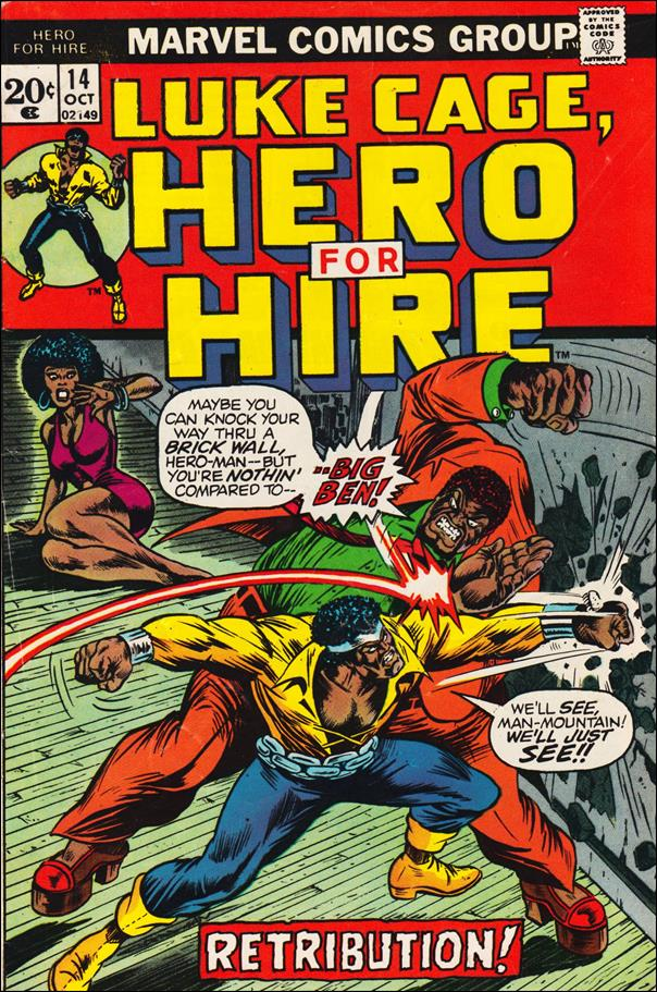 Hero for Hire 14-A by Marvel
