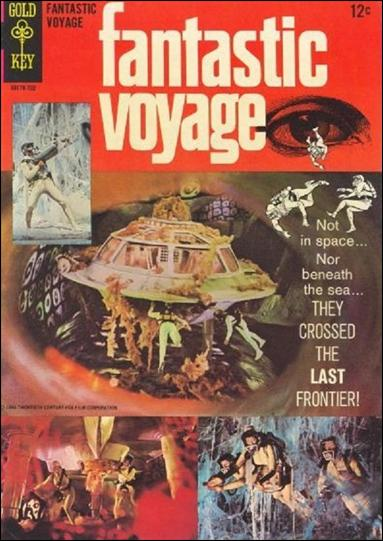 Fantastic Voyage (1967) nn-A by Gold Key