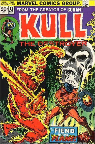 Kull the Destroyer 13-A by Marvel