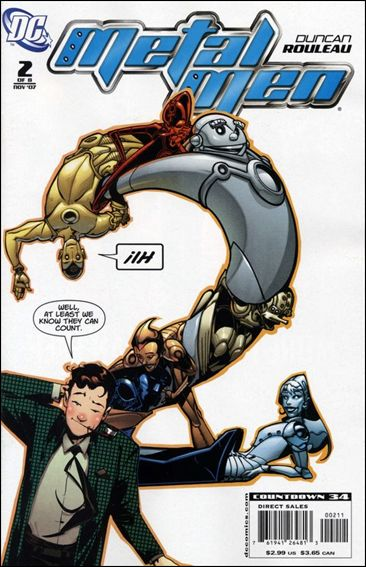 Metal Men (2007) 2-A by DC