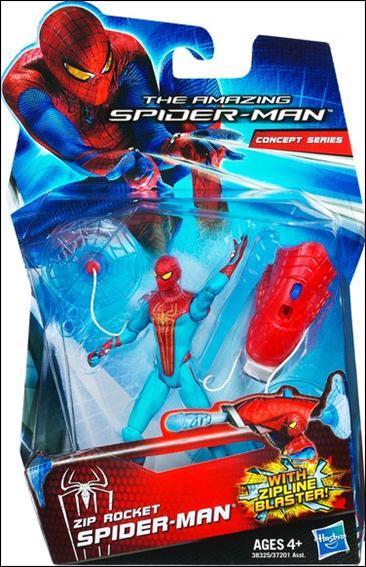 Amazing Spider-Man (2012) Zip Rocket Spider-Man (Concept Series) by Hasbro