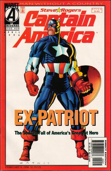 Captain America (1968) 450-B by Marvel