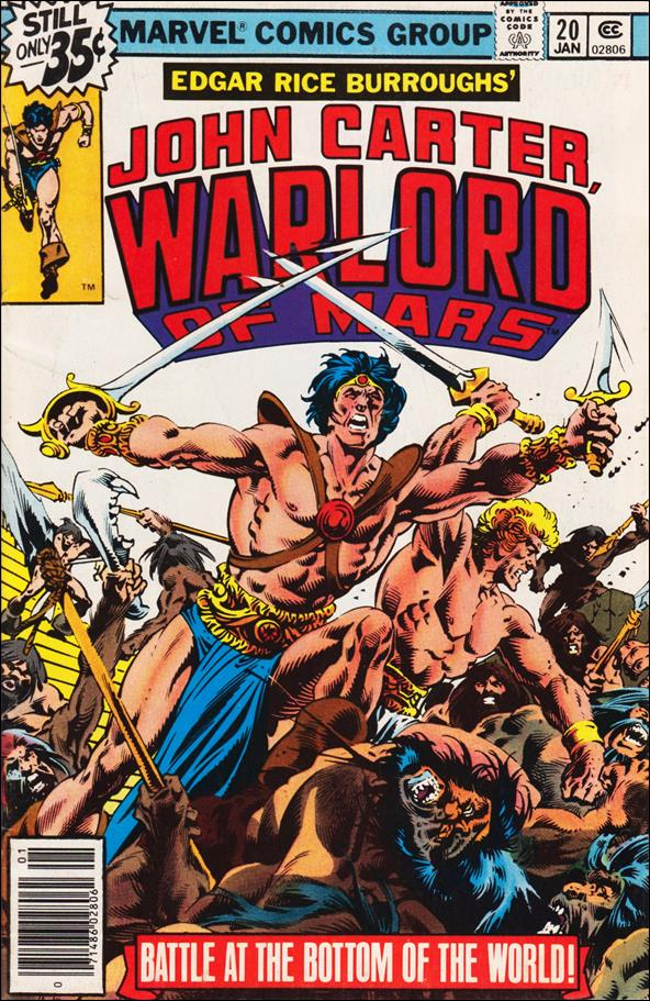 John Carter, Warlord of Mars 20-A by Marvel