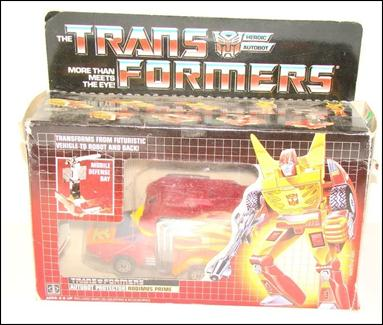Transformers: More Than Meets the Eye (Generation 1) Rodimus Prime (Autobot Protector) by Hasbro