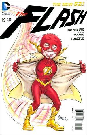 Flash (2011) 19-B by DC