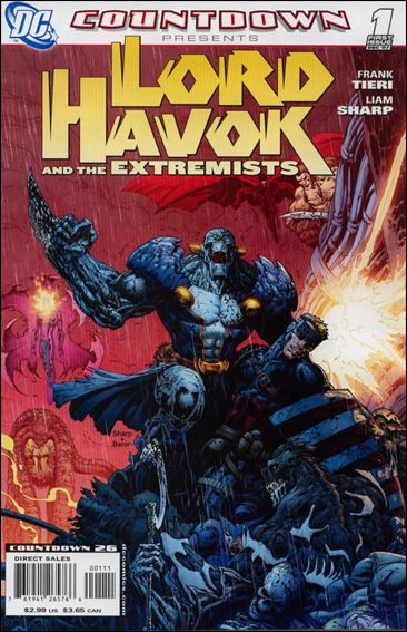 Countdown Presents: Lord Havok & the Extremists 1-A by DC