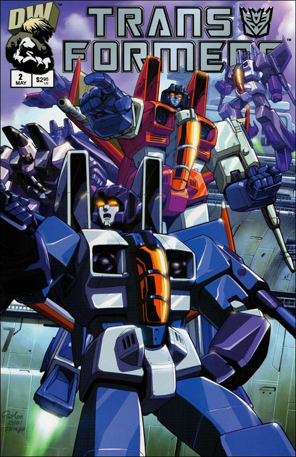 Transformers: Generation 1 (2002) 2-B by Dreamwave